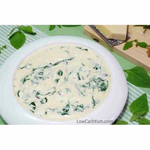Medium Crop Of Keto Creamed Spinach