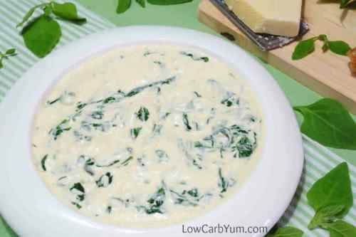 Medium Of Keto Creamed Spinach
