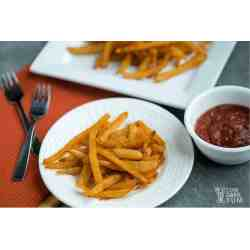Aweinspiring Veggetti Power How To Make Curly Fries Jicama Fries Seasoned Low Carb French Fries Low Carb Yum How To Make Curly Fries Veggetti Pro