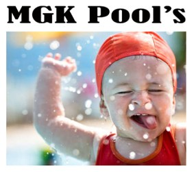 MGK Pools Logo