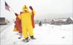 Chicken Man -- Credit to Kevin Kreck of Co. Springs Gazette