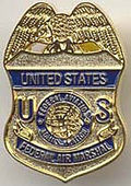 US air marshal badge