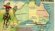map of australia from katoomba