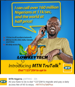 MTN true talk plus