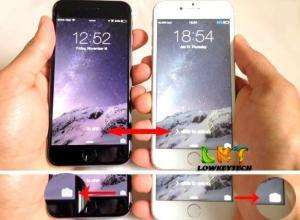 display iphone