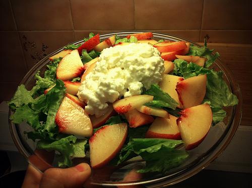 Paleo Cottage Cheese Salad