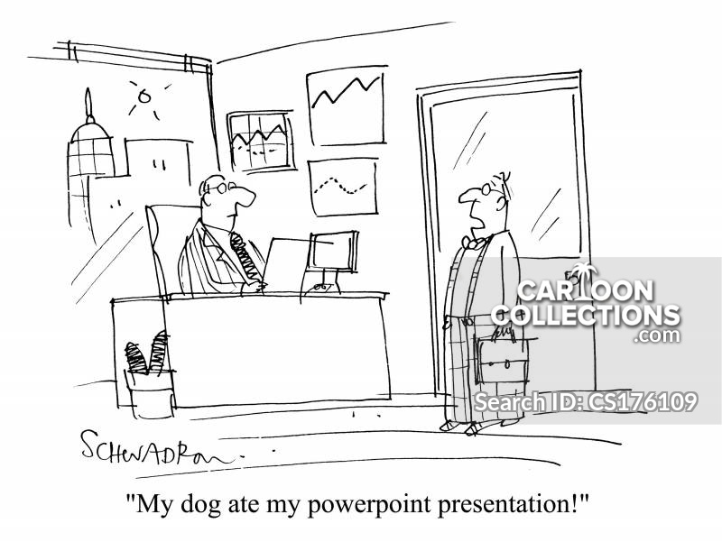 Powerpoint Presentations Cartoons