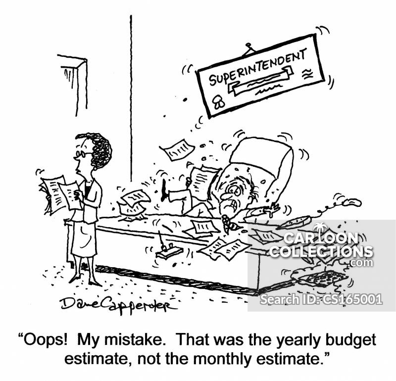 School Budget Cartoons