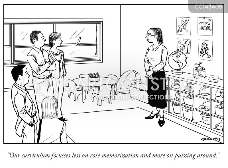 Education System Cartoons and Comics - funny pictures from CartoonStock