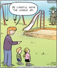 Playground Equipment Cartoons and Comics - funny pictures ...