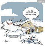 Funny Snow Storm Cartoons