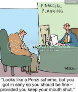 Financial Crime Cartoons