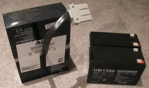 Roo\u0027s View » Blog Archive » Low cost APC UPS RBC33 replacement
