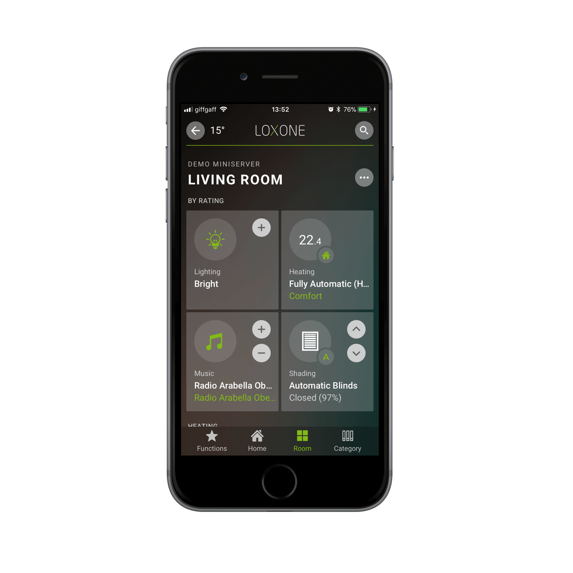 Smart Home App The Most Powerful Smart Home App Available 100 Free Loxone