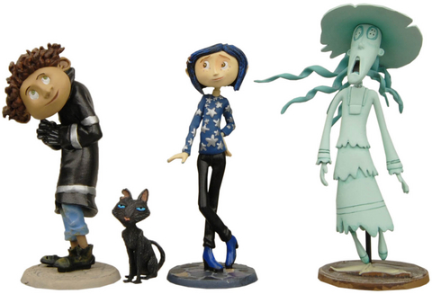 Coraline Toy Figures Exact Replica Of The Movie Characters