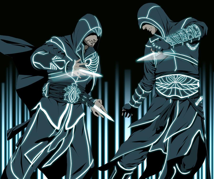 Bboy Wallpaper Full Hd Assassins In Tron By Doubleleaf Idea By Hackstermatrix