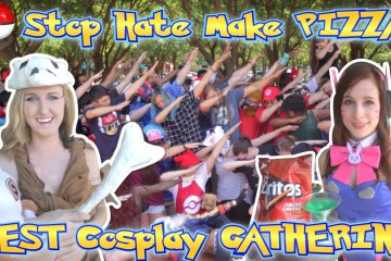Stop Hate Make Pizza Cosplay Gathering DALLAS Summer 2016 Vlog 33_00000