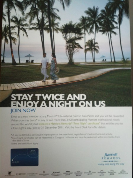 Marriott Silver Upgrades