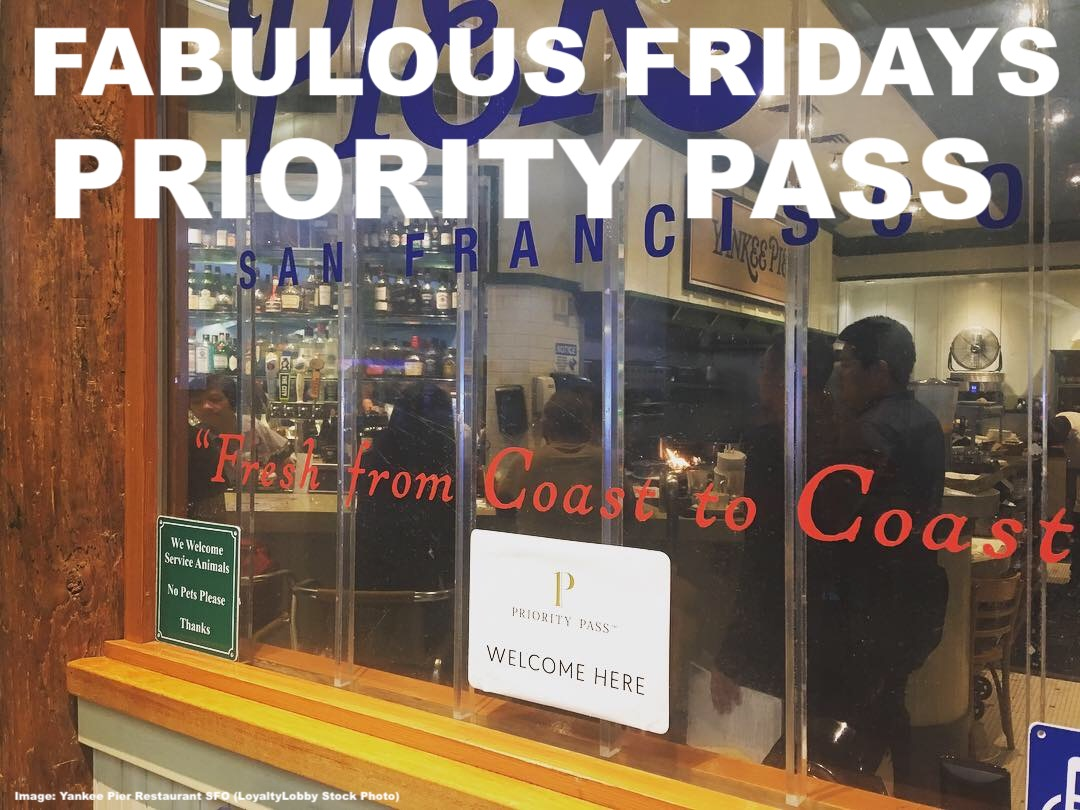 Dining Lounge Fabulous Fridays Priority Pass Dining Credit As Alternative To