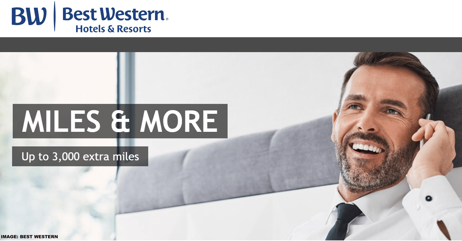 Miles And More Iberia Best Western Rewards 4 500 Lufthansa Miles More Miles For Three