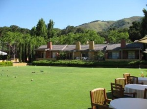 Bernardus Lodge grounds Carmel California LHW member hotel
