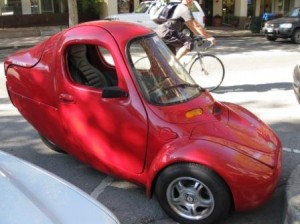 Electric Car, Palo Alto, California