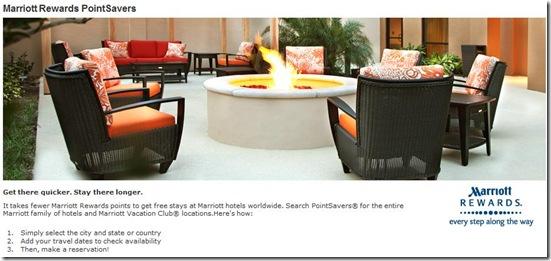 Marriott Rewards PointSavers