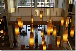 Marriott La Jolla lobby