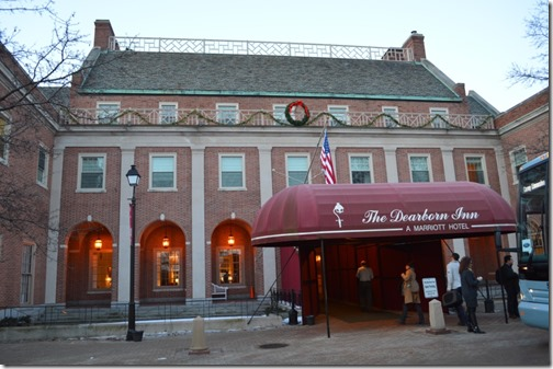 Dearborn Inn entrance