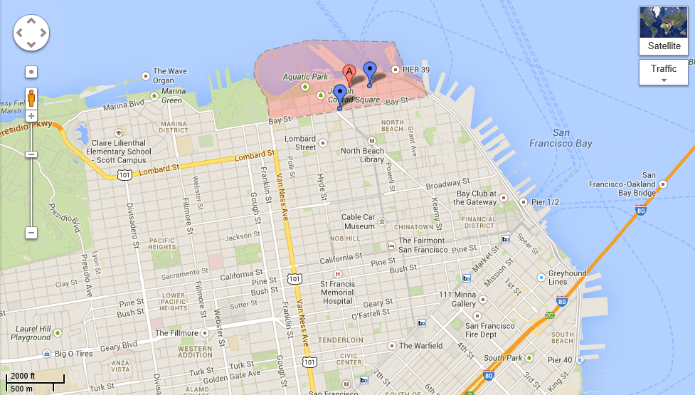 Fairmont San Jose Map Picture Ideas References