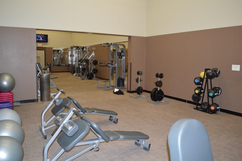 Largest hotel fitness center i ve seen loyalty traveler