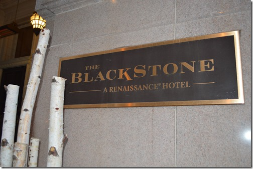 The Blackstone sign