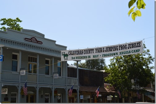 Calaveras County Fair sign