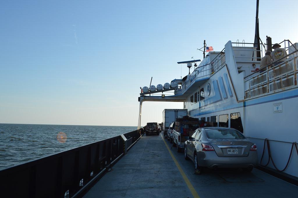 Cedar Island Ferry Time