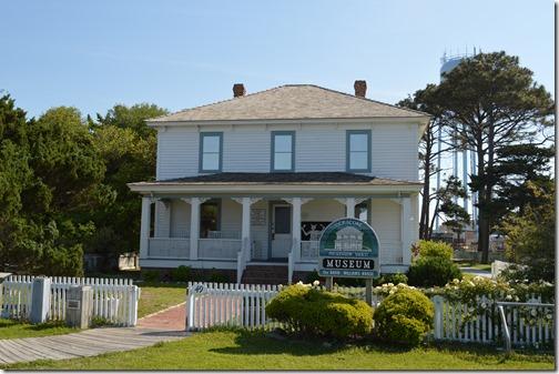 Ocracoke Museum house