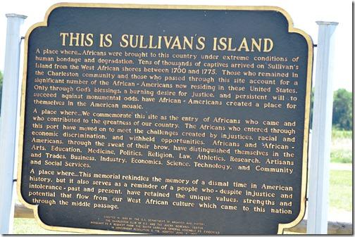 Sullivan slavery sign