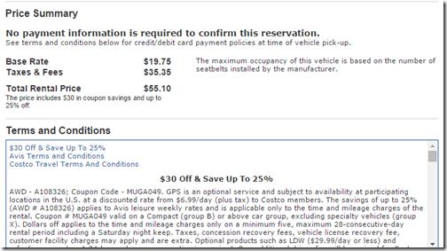 Costcotravel Com Car Rental