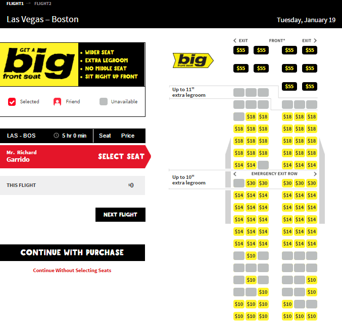 Spirit airlines one way jan 5 only sale is real for Spirit airlines ticket prices