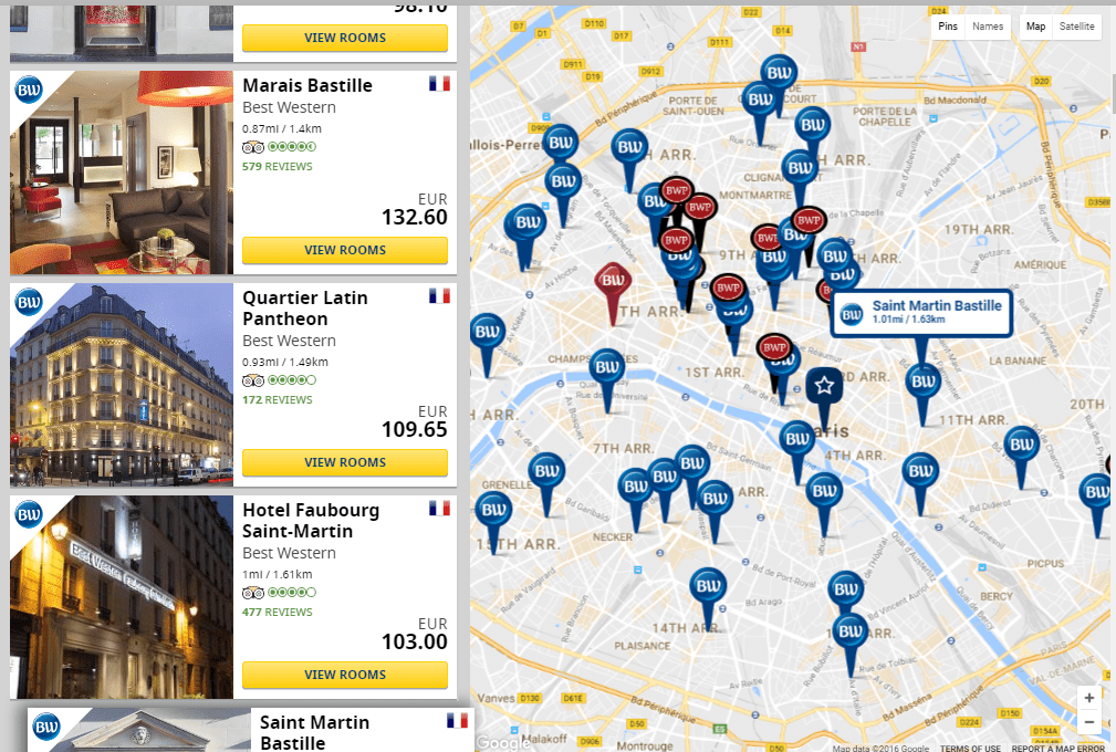 Did You Know There Are 60 Best Western Hotels In Paris