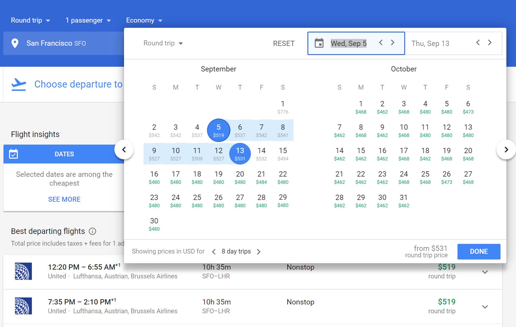 Google Flights Google Flights Ecosia