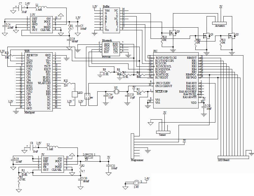 bluetooth wlan gps circuit lock diagram