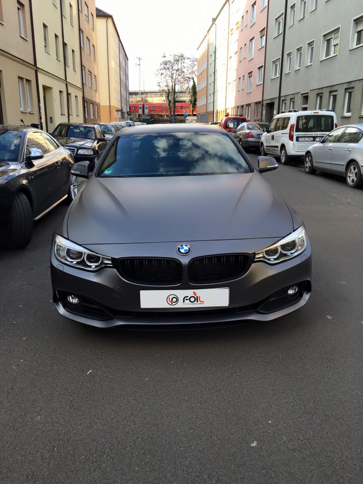 Anthrazit Matt Metallic Lack Farbcode Bmw 4er 435 Cabrio Anthrazit Matt Metallic - Lp-foil.de