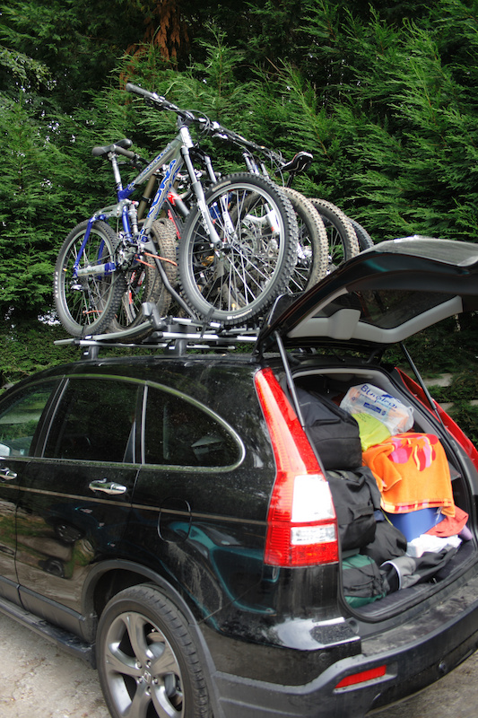 Car Carrier Height Roof Mounted Bike Racks Your Opinions Please