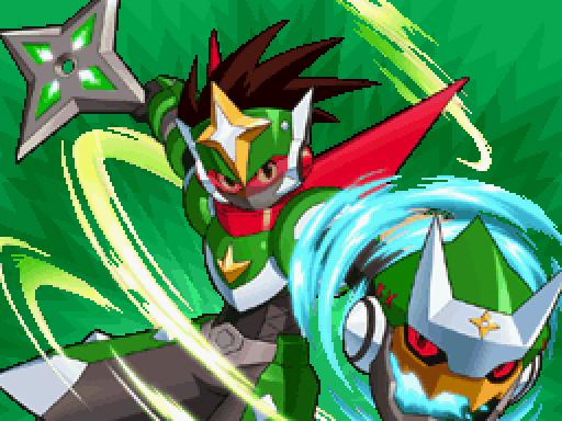 Yugioh Iphone Wallpaper Mega Man Star Force 2 Zerker X Saurian Part 6 What