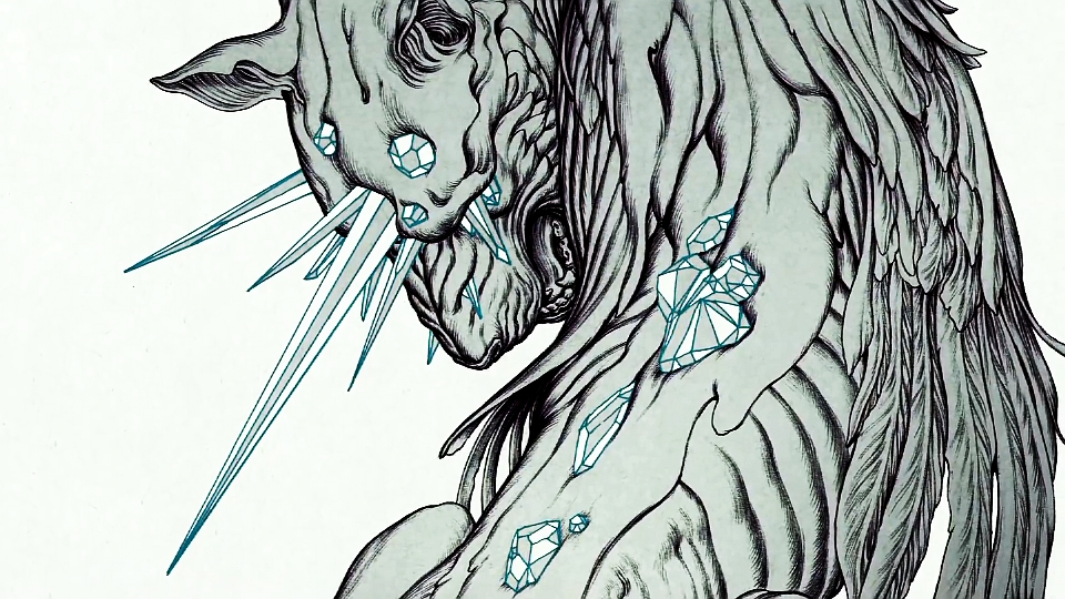 """Artist James Jean and Linkin Park's Mike Shinoda and Joe Hahn Talk Designing Art for """"The Hunting Party"""""""