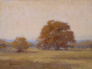 """""""Forest Oaks"""" Nancy Becker, oil on canvas, 12″ x 16″ $995"""