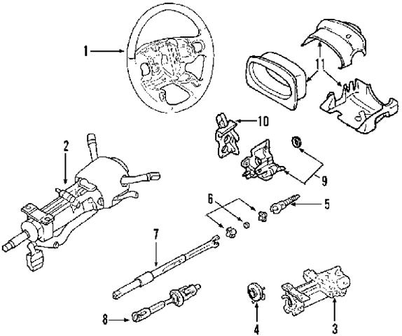 2004 cadillac cts parts diagram