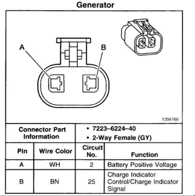 1997 mazda alternator wiring diagram