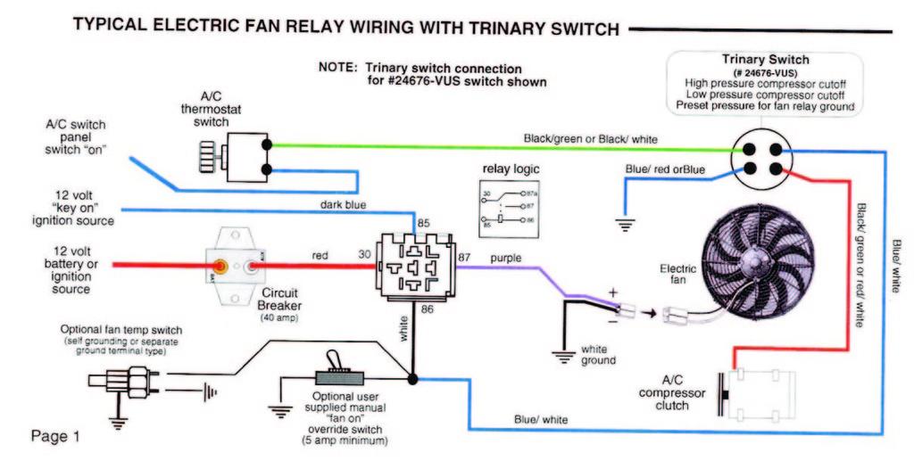 ac trinary switch wiring diagram