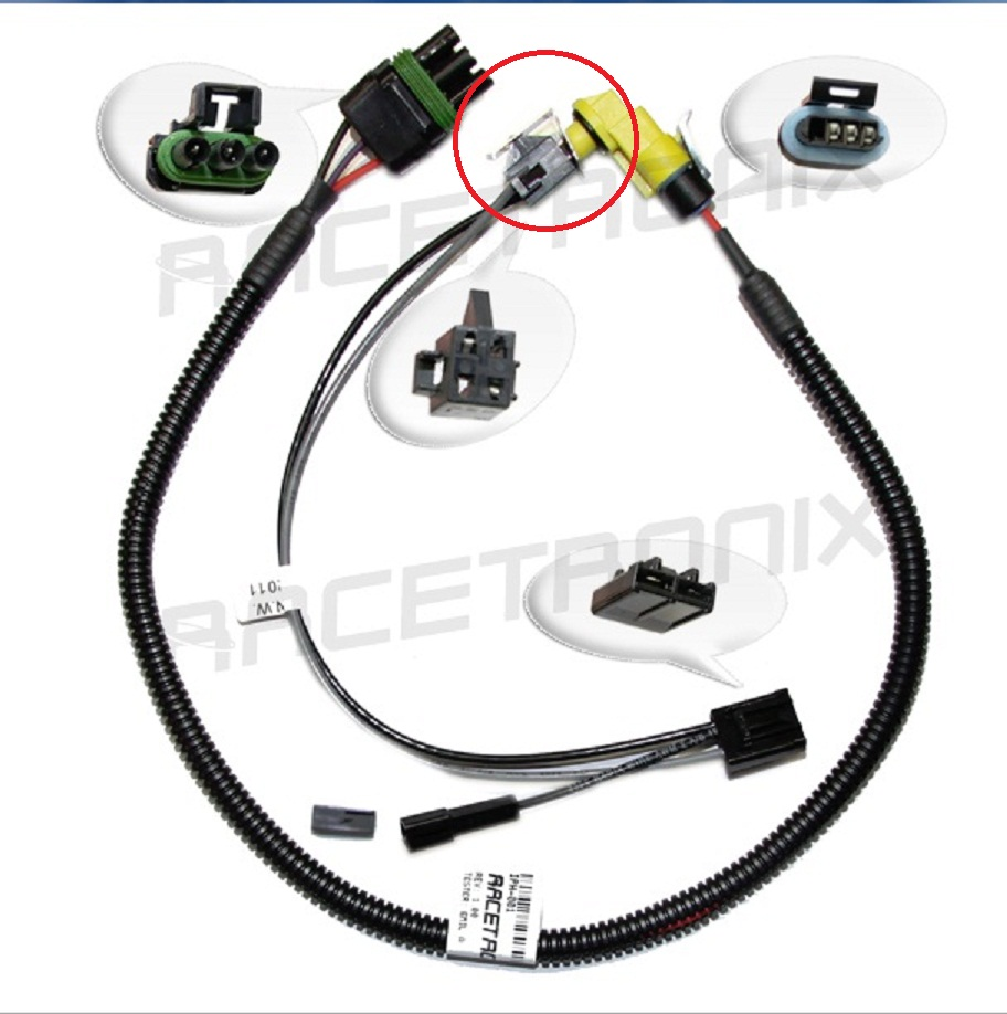 racetronix fuel pump wiring harness install